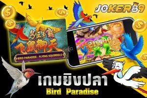 เกมส์ BIRD PARADISE-FLYING SQUIRRELS