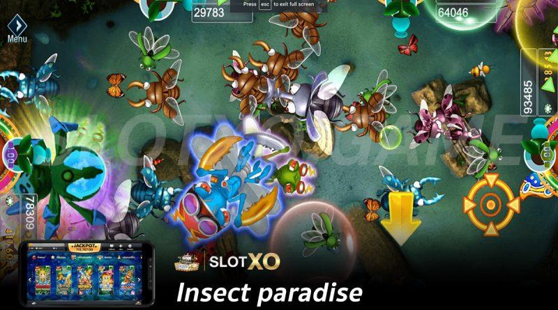 รีวิวเกม Insect paradise