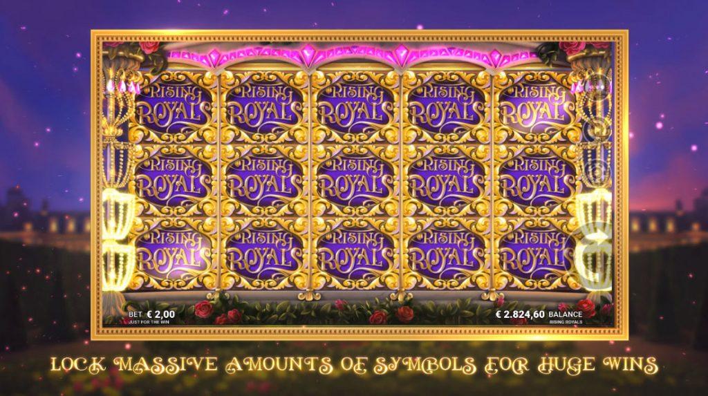 เกมสล็อตออนไลน์ Rising Royals